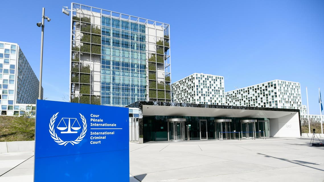 FILE PHOTO: An exterior view of the International Criminal Court in the Hague, Netherlands, March 31, 2021. REUTERS/Piroschka van de Wouw/File Photo
