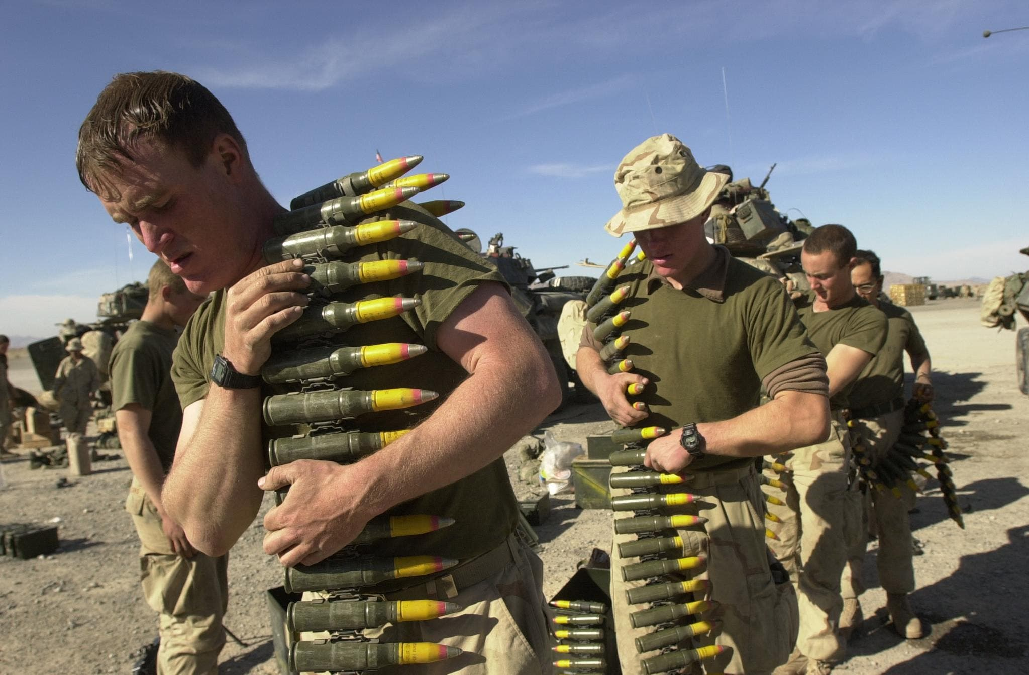 جنود أميركيون في أفغانستان في 2002 (أرشيفية)