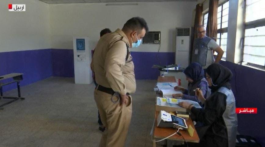 من التصويت الخاص بالعراق