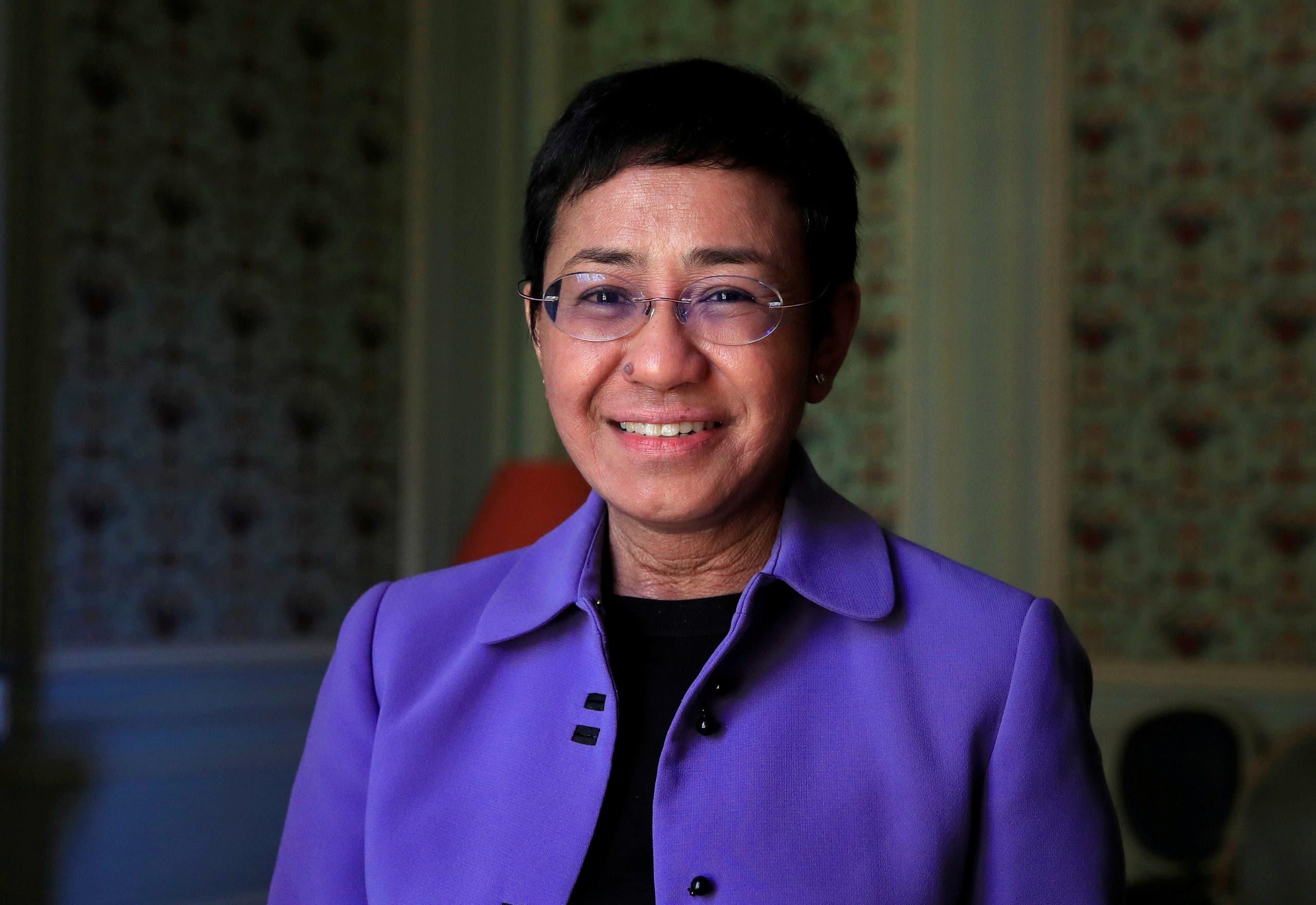 الصحفية الفلبينية ماريا ريسا