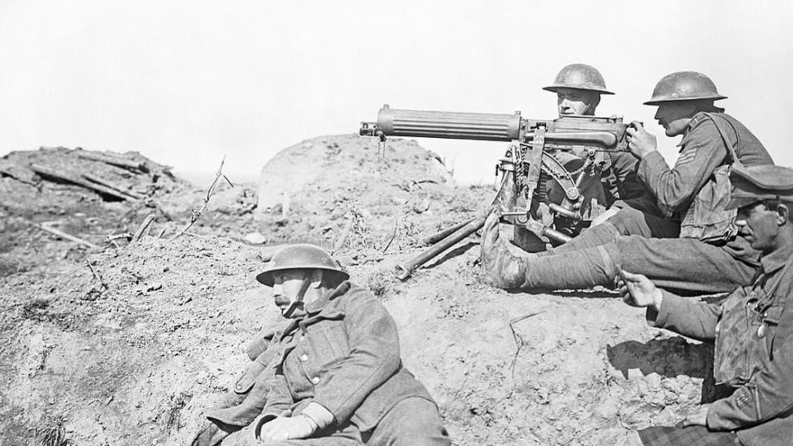 جنود أميركيون بالحرب العالمية الأولى