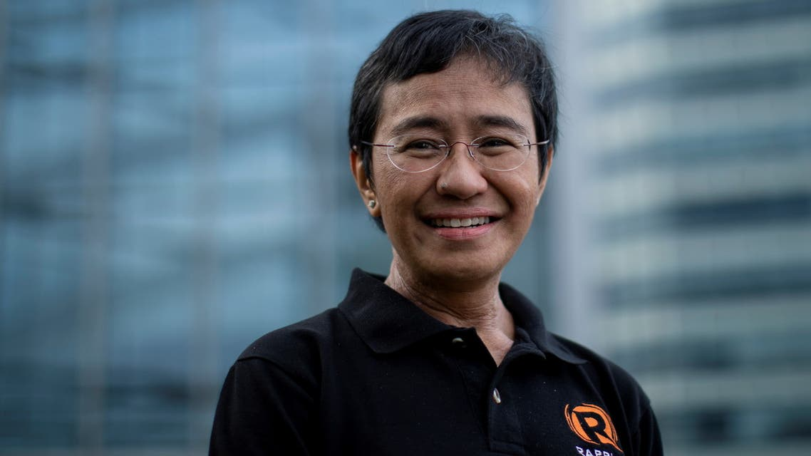 Filipino journalist and Rappler CEO Maria Ressa, one of 2021 Nobel Peace Prize winners, poses for a portrait in Taguig City, Metro Manila, Philippines, October 9, 2021. REUTERS/Eloisa Lopez
