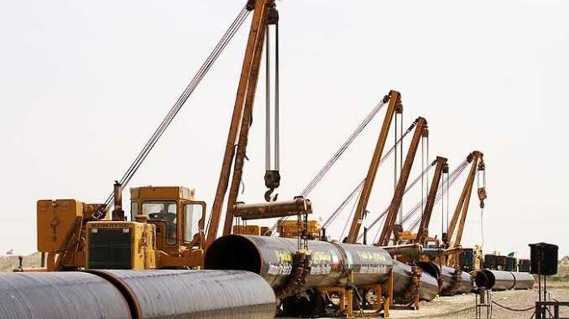 نشت گاز متان در جنوب ایران