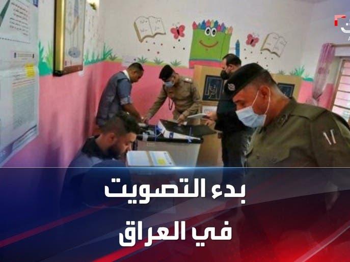 الأمن والنازحون يفتتحون أول انتخابات مبكرة بالعراق منذ 2003