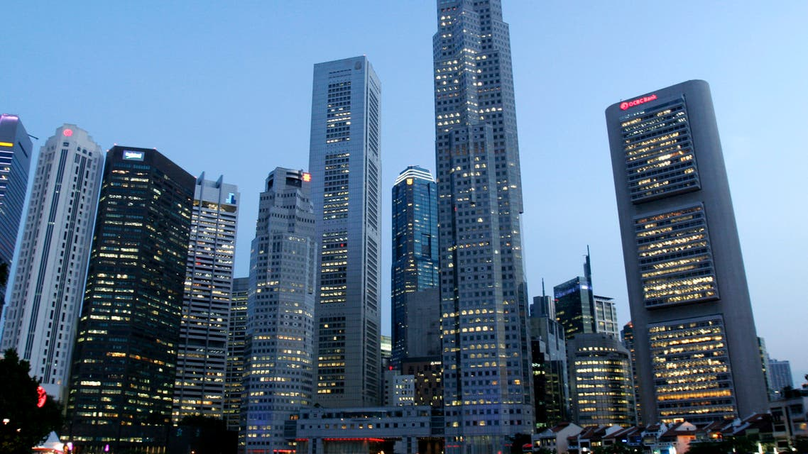 A view of the Central Business District in Singapore September 23, 2008.  (Reuters)