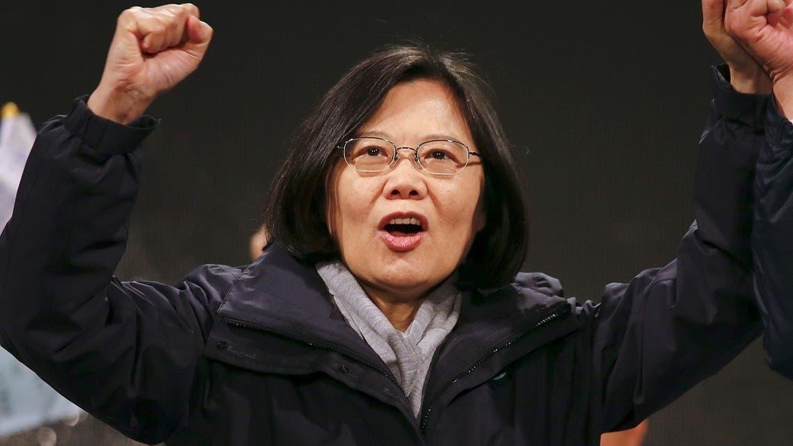 File photo of Taiwan President Tsai Ing-wen. (Reuters)