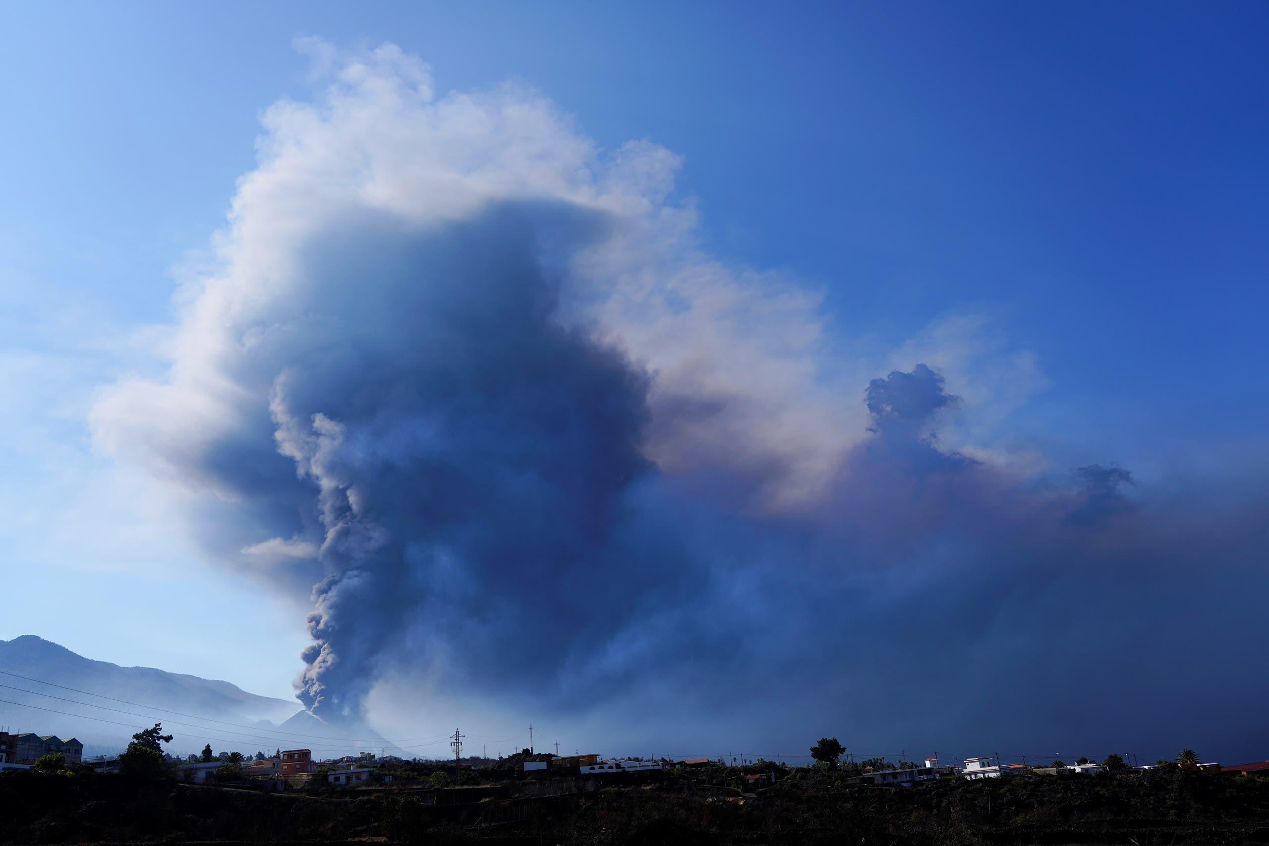 من ثوران بركان لابالما