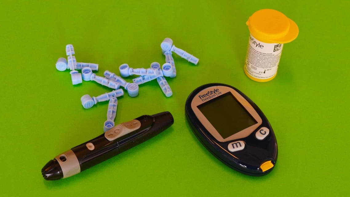 Complete set for glucose measurement (diabetes). (Unsplash, Diabetes Magazijn NL)