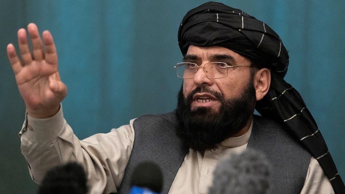 File photo of Suhail Shaheen, Taliban political spokesman. (Reuters)