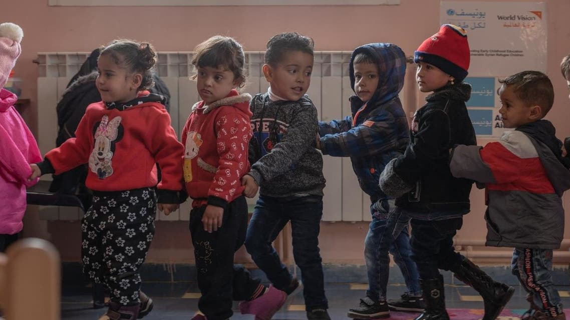 """The stress and trauma of Lebanon's multiple crises have affected both persons with and without disabilities,"""" Yukie Mokuo, UNICEF representative in Lebanon, told Al Arabiya English. (Image: UNICEF Lebanon)"""