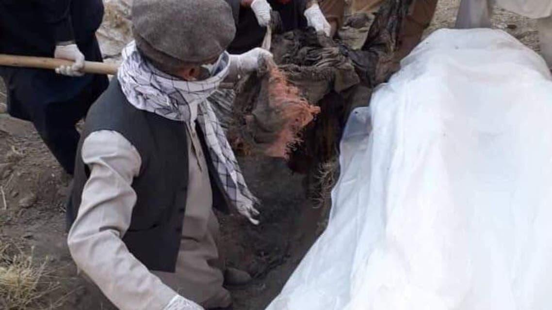 گورهای دسته جمعی در پنجشیر افغانستان