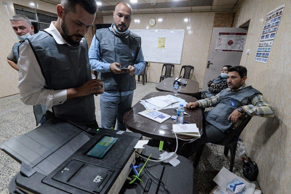 شمارش ماشینی آرا در انتخابات عراق