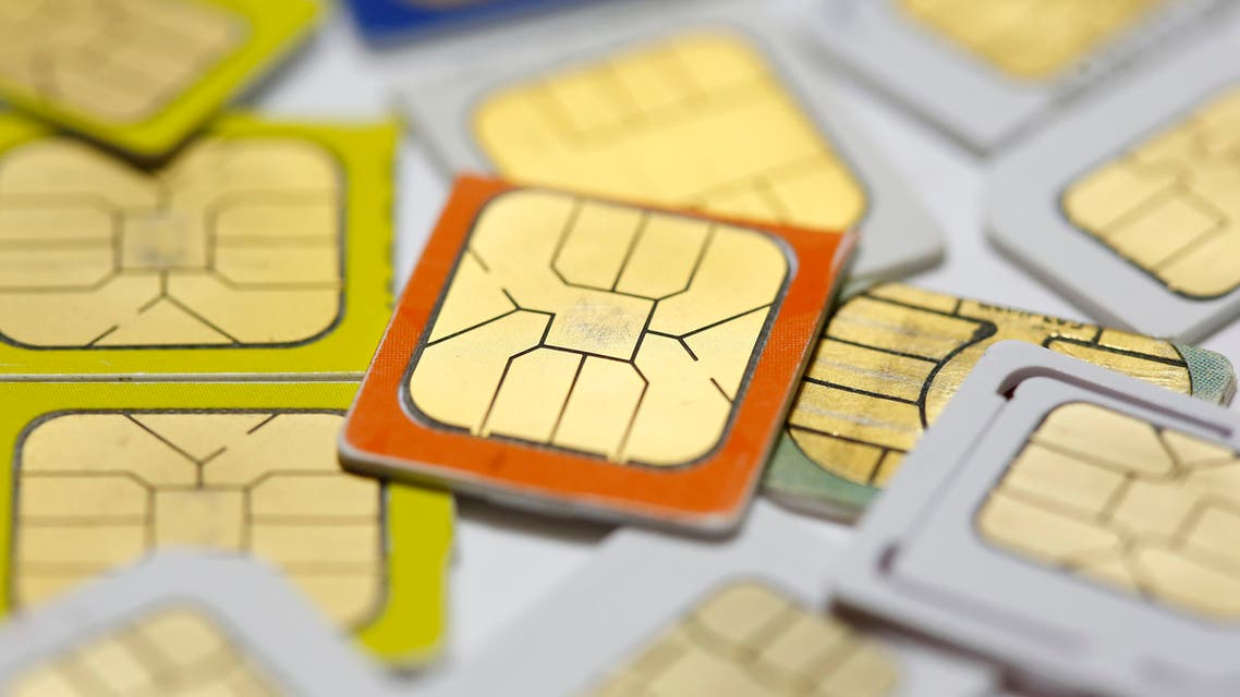 SIM cards lie on a table in this photo illustration taken in Sarajevo February 24, 2015. (File photo: Reuters)