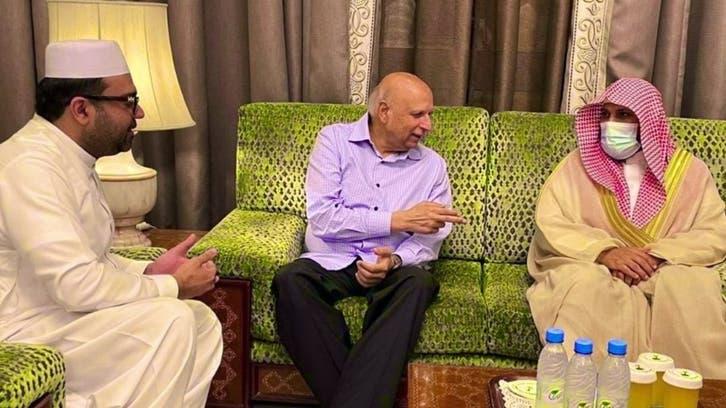 امام کعبہ ڈاکٹر ماہر المعیقلی اور گورنر پنجاب کی ملاقات میں پاک۔سعودی تعلقات پر گفتگو