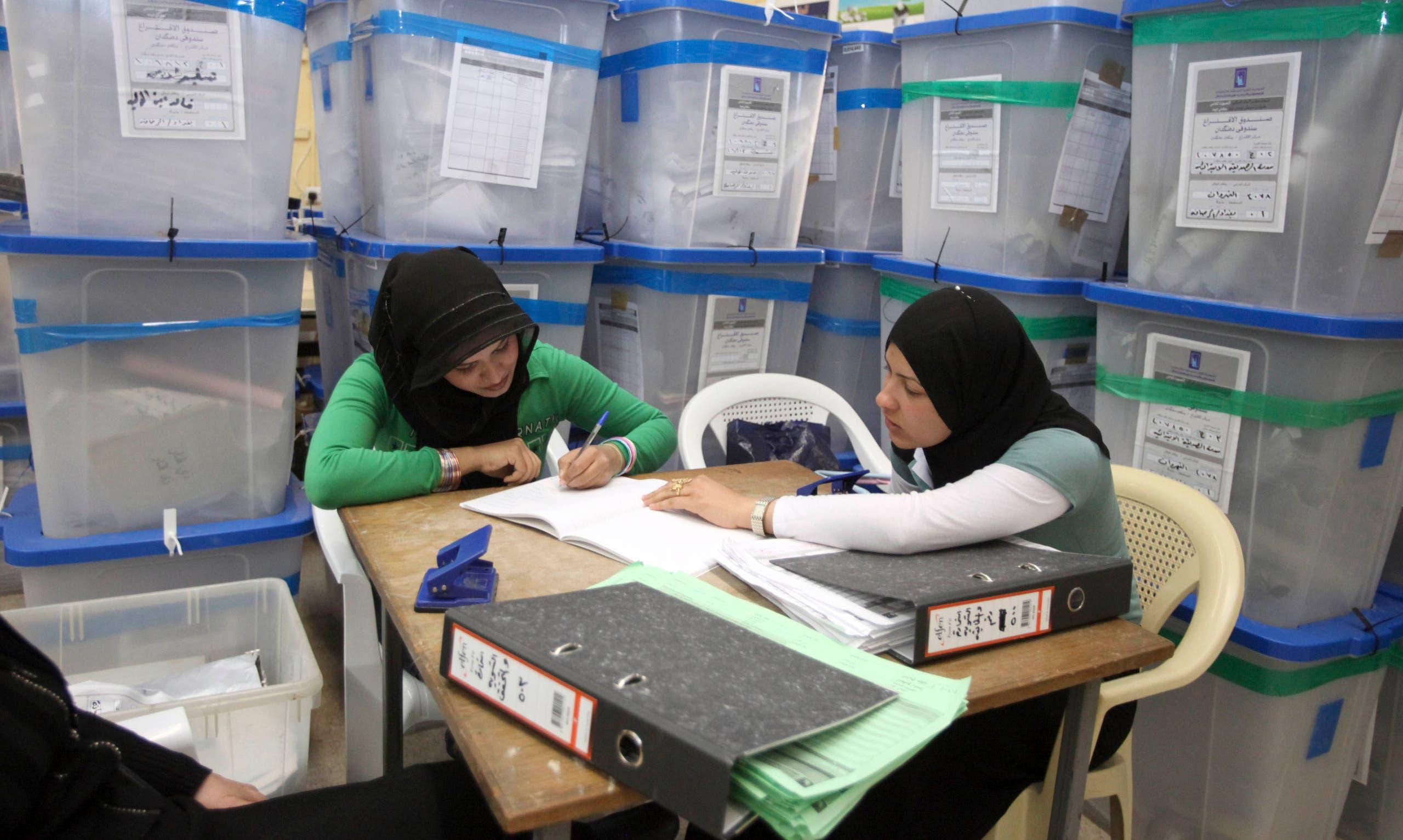 انتخابات العراق (أرشيفية- أسوشييتد برس)