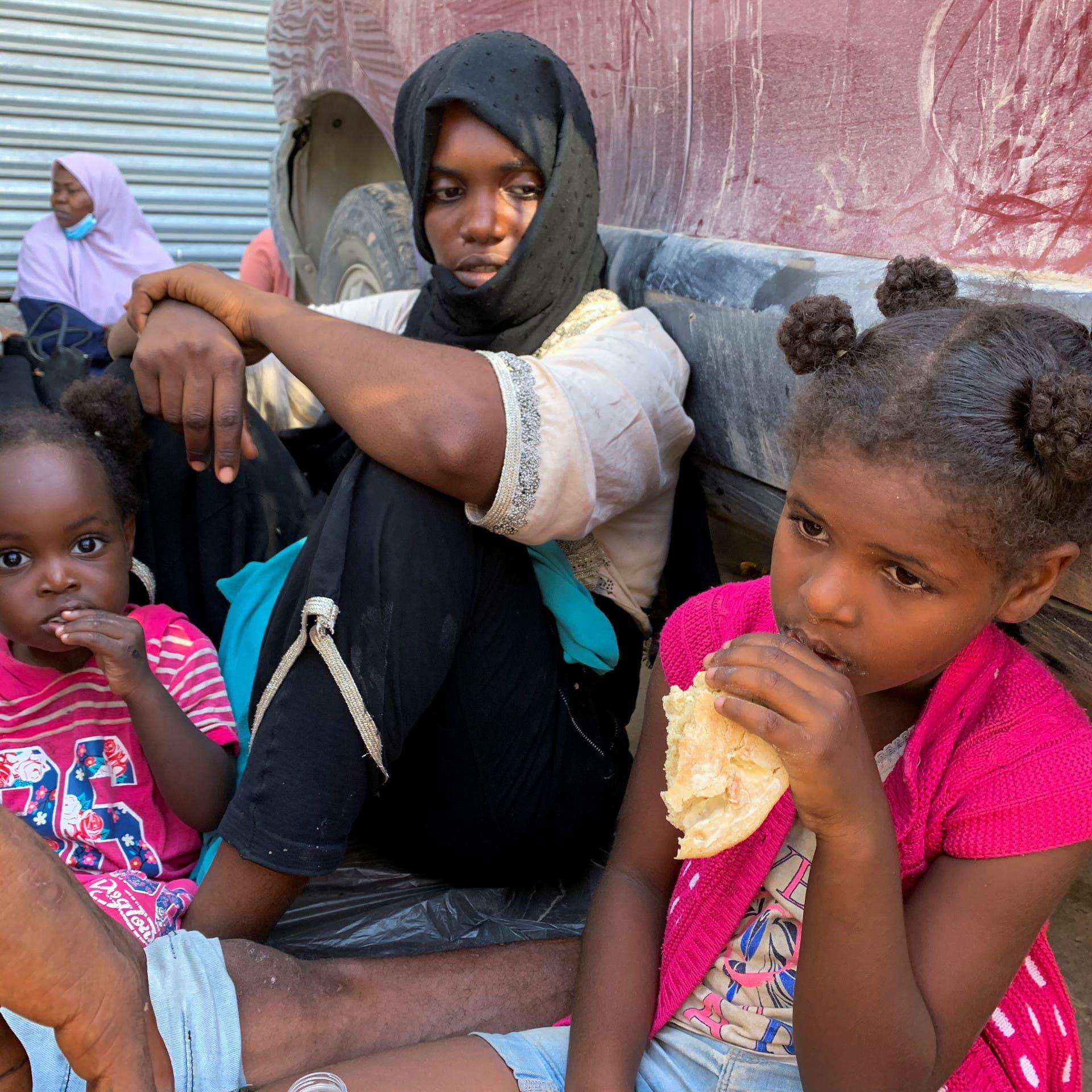 يونيسف: خطر فوري يهدد 1000 امرأة وطفل بمراكز للاجئين بليبيا