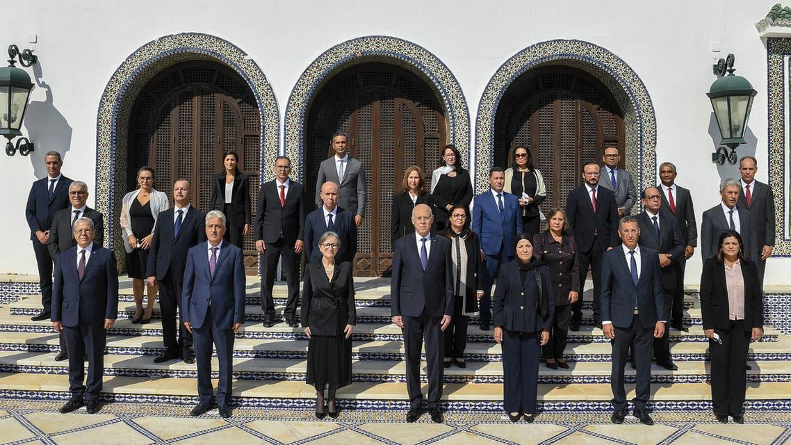 الحكومة التونسية الجديدة (11 أكتوبر 2021- فرانس برس)