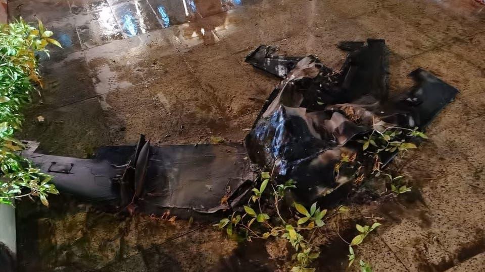 المسيّرة الحوثية التي سقطت على مطار الملك عبدالله في جازان