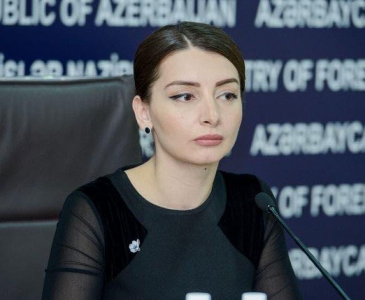 المتحدثة باسم الخارجية الأذربيجانية ليلى عبداللهيفا