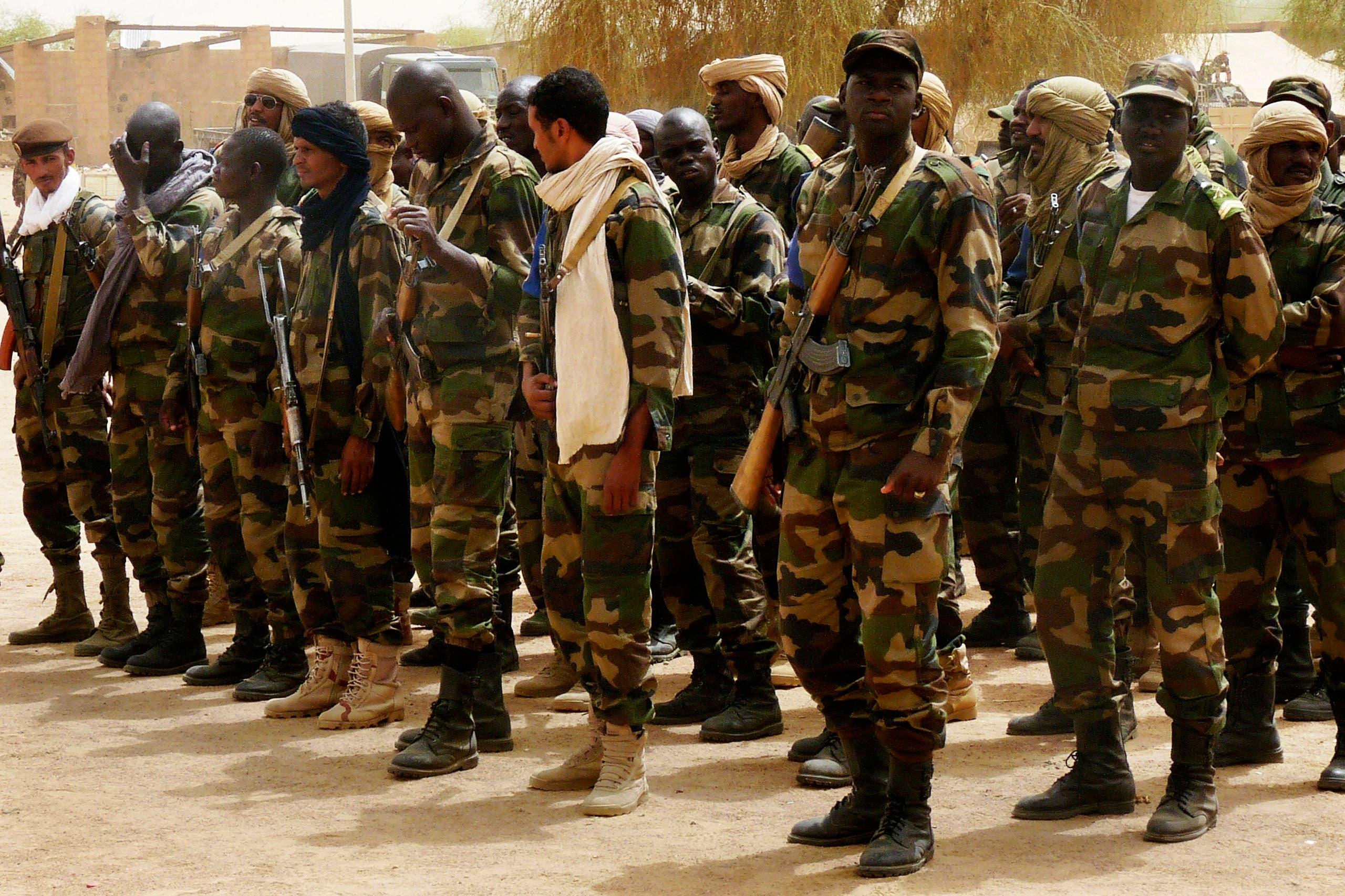 الجيش المالي في كيدال (أرشيفية)
