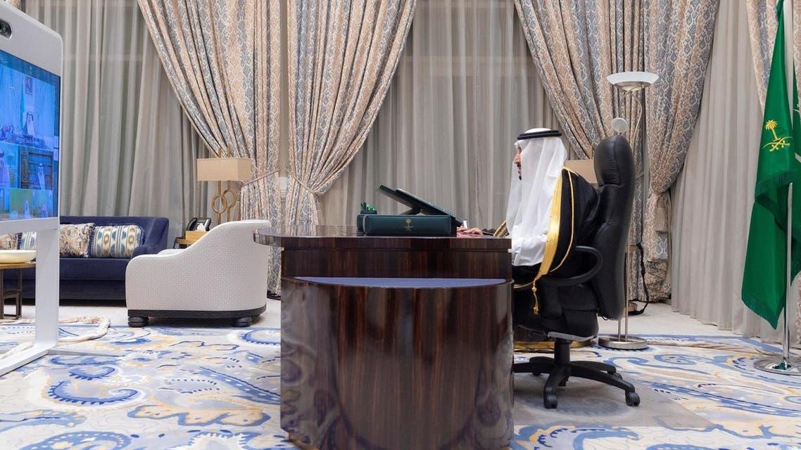 السعودية مجلس الوزراء السعودي برئاسة الملك سلمان