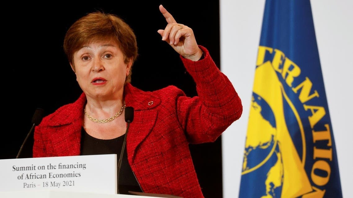 International Monetary Fund (IMF) Managing Director Kristalina Georgieva speaks during a joint news conference at the end of the Summit on the Financing of African Economies in Paris, France. (File photo: Reuters)