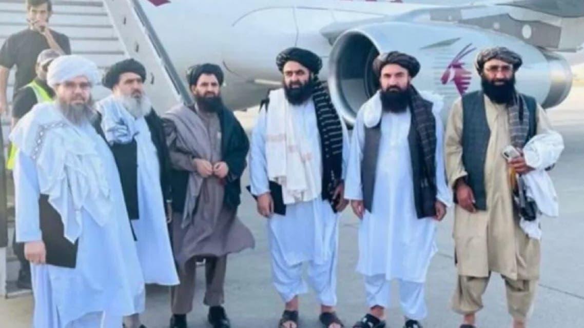 هیئت طالبان در مذاکرات دوحه