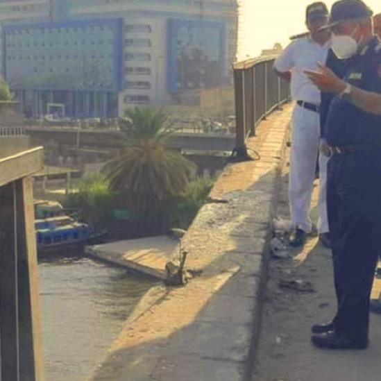 كبير الغوّاصين في مصر: خبر سقوط الميكروباص بالنيل مفبرك