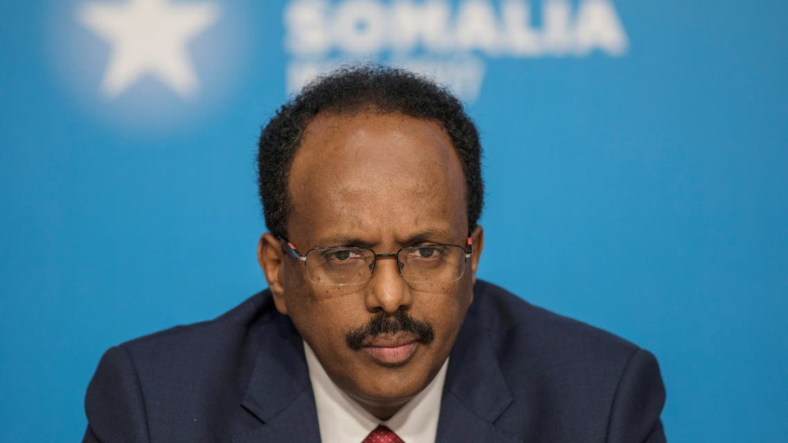 Mohamed Abdullahi Mohamed, President of Somalia, attends the London Somalia Conference' at Lancaster House, May 11, 2017. (File photo: Reuters)