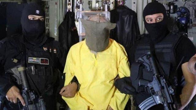 سامي جاسم خلال اعتقاله