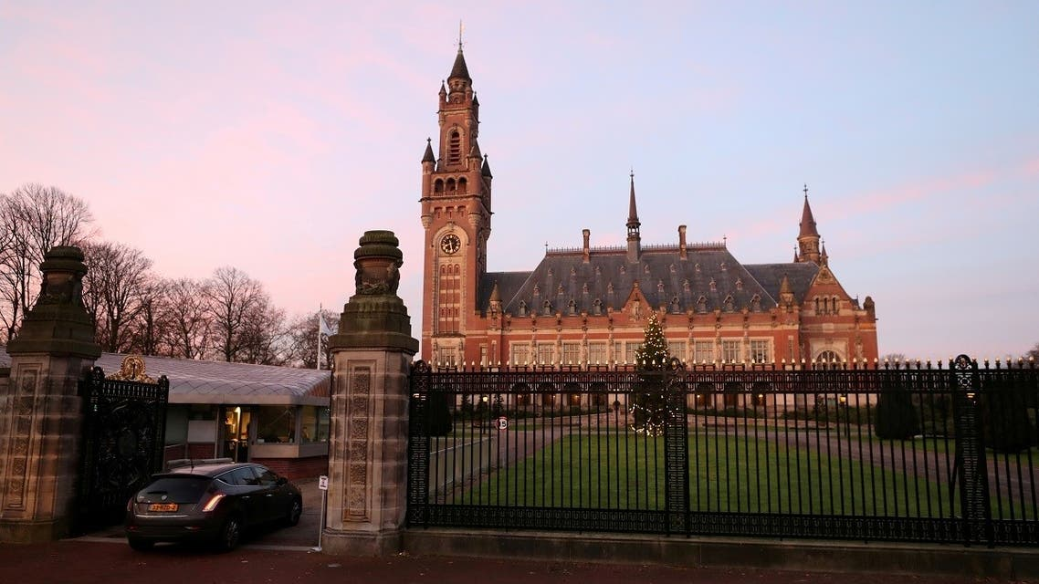 General view of the International Court of Justice (ICJ) in The Hague, Netherlands. (Reuters)