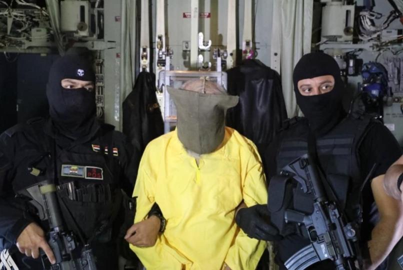 القبض على نائب البغدادي (واع)