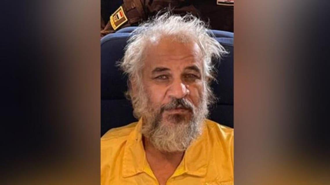 Iraq forces captured ISIS leader Sami Jasim on October 11, 2021. (Twitter/SecMedCell)