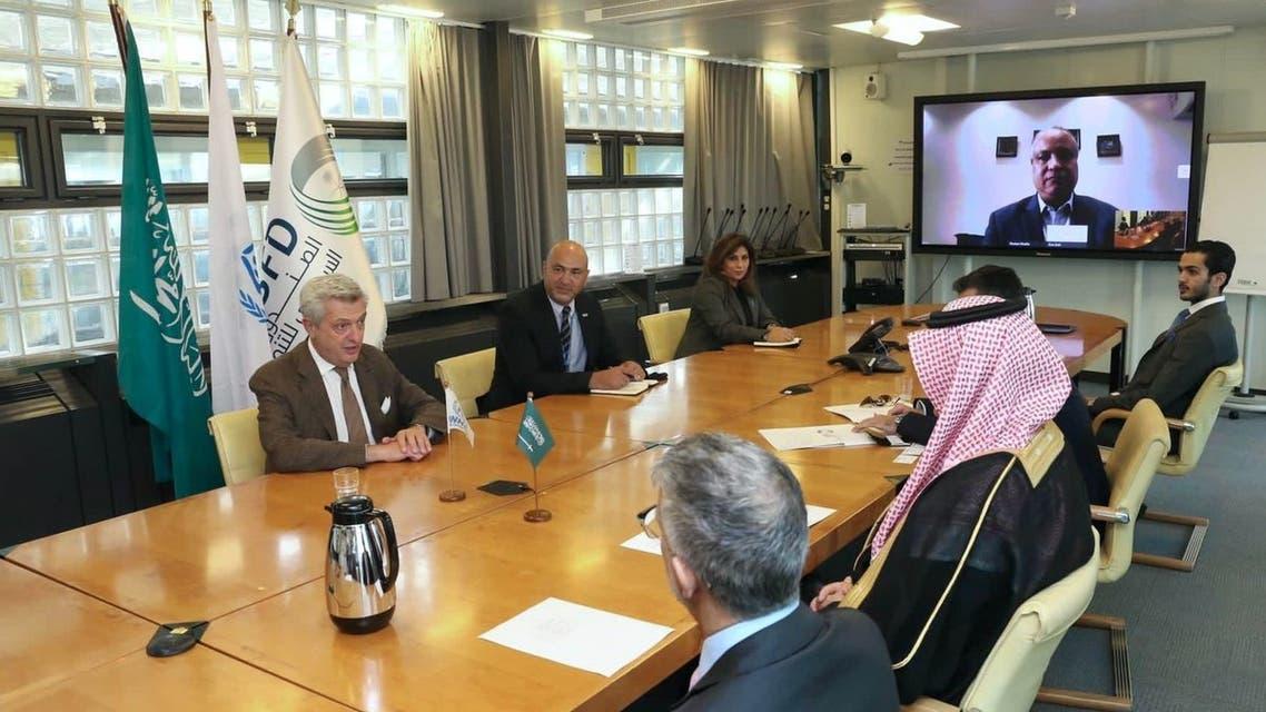 خلا اجتماع المفوض السامي للأمم المتحدة لشؤون اللاجئين