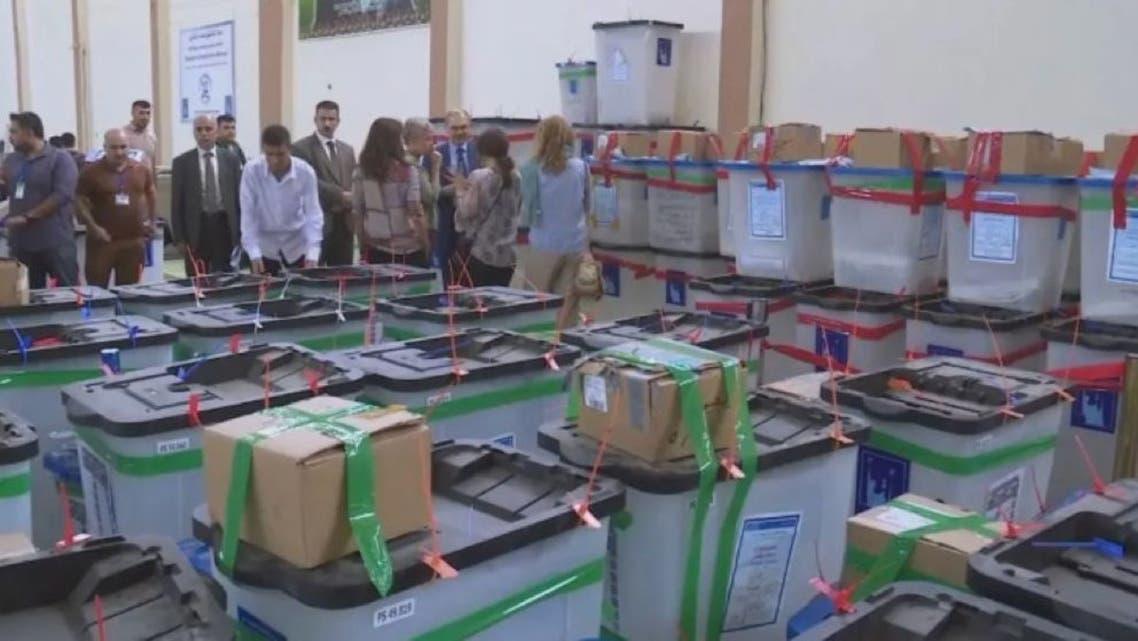 شمارش آرا انتخابات عراق