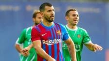 أغويرو يشارك في مباراة ودية مع برشلونة