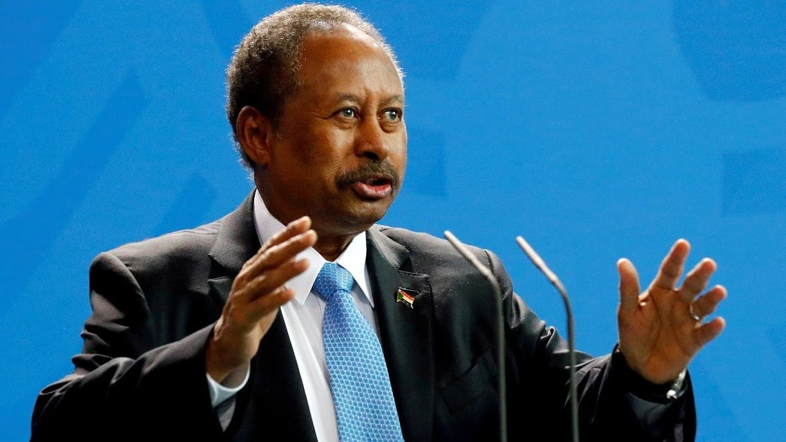File photo of Sudan's Prime Minister Abdalla Hamdok. (Reuters)