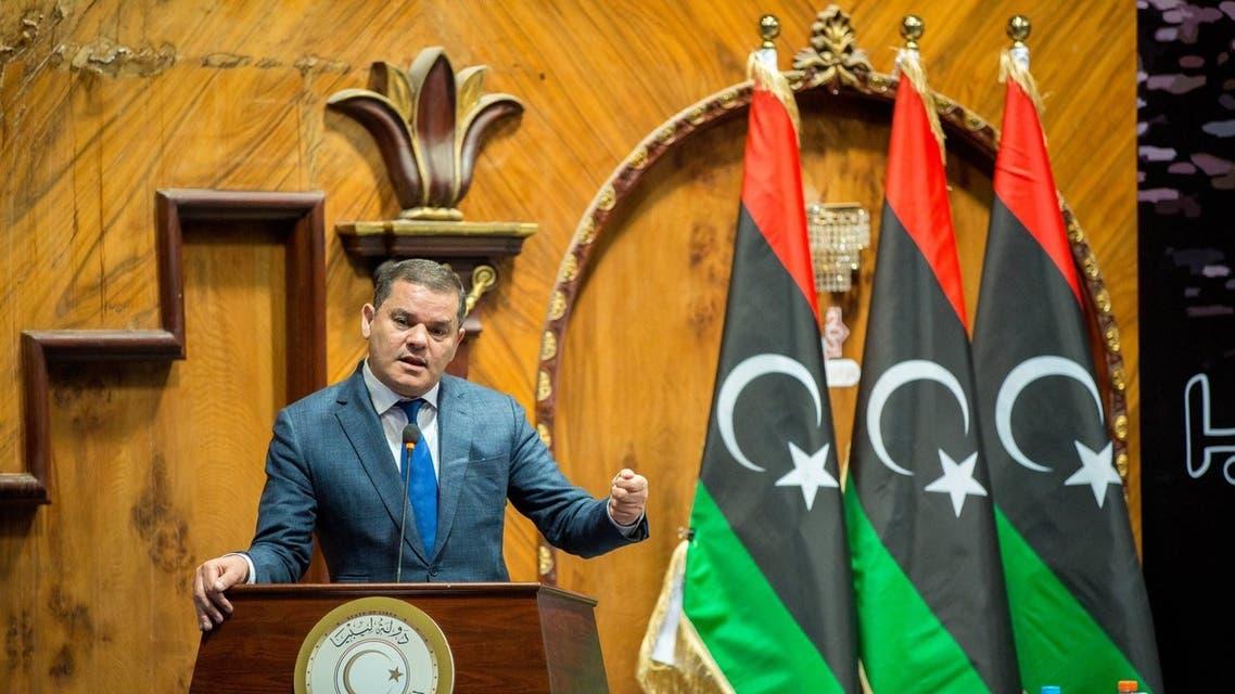 رئيس الحكومة الليبية عبد الحميد الدبيبة