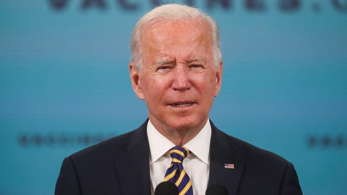 President Joe Biden delivers an update on the administration's COVID-19 response, Oct. 14, 2021. (Reuters)
