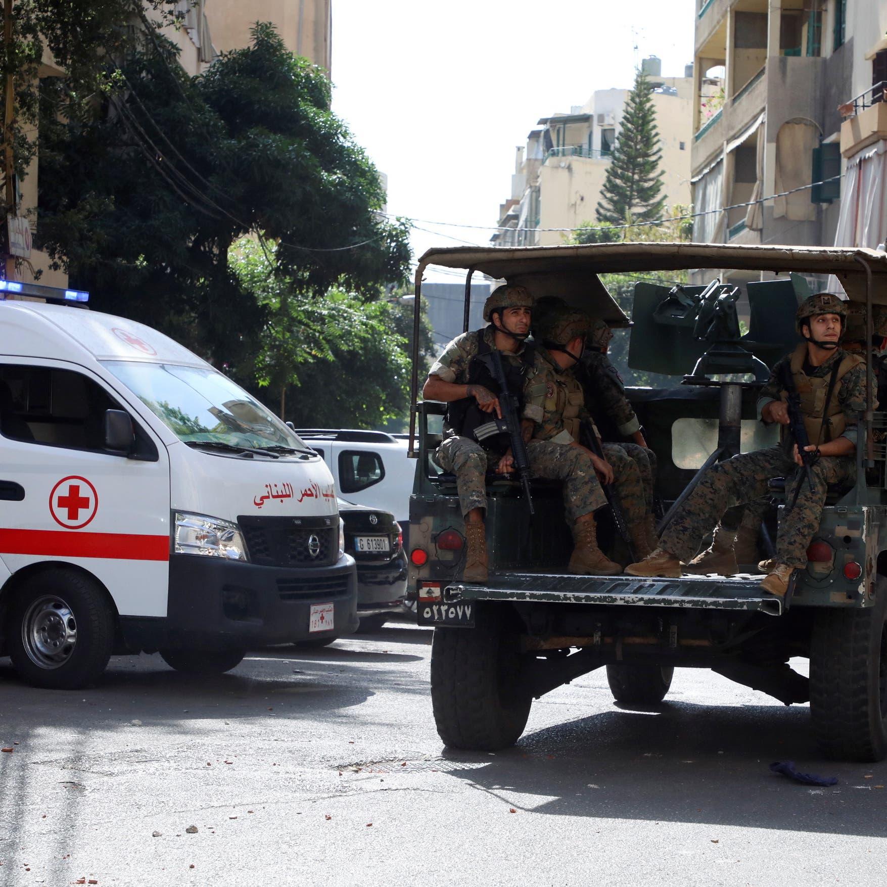 قذائف ورصاص في بيروت.. وعشرات القناصين على الأسطح