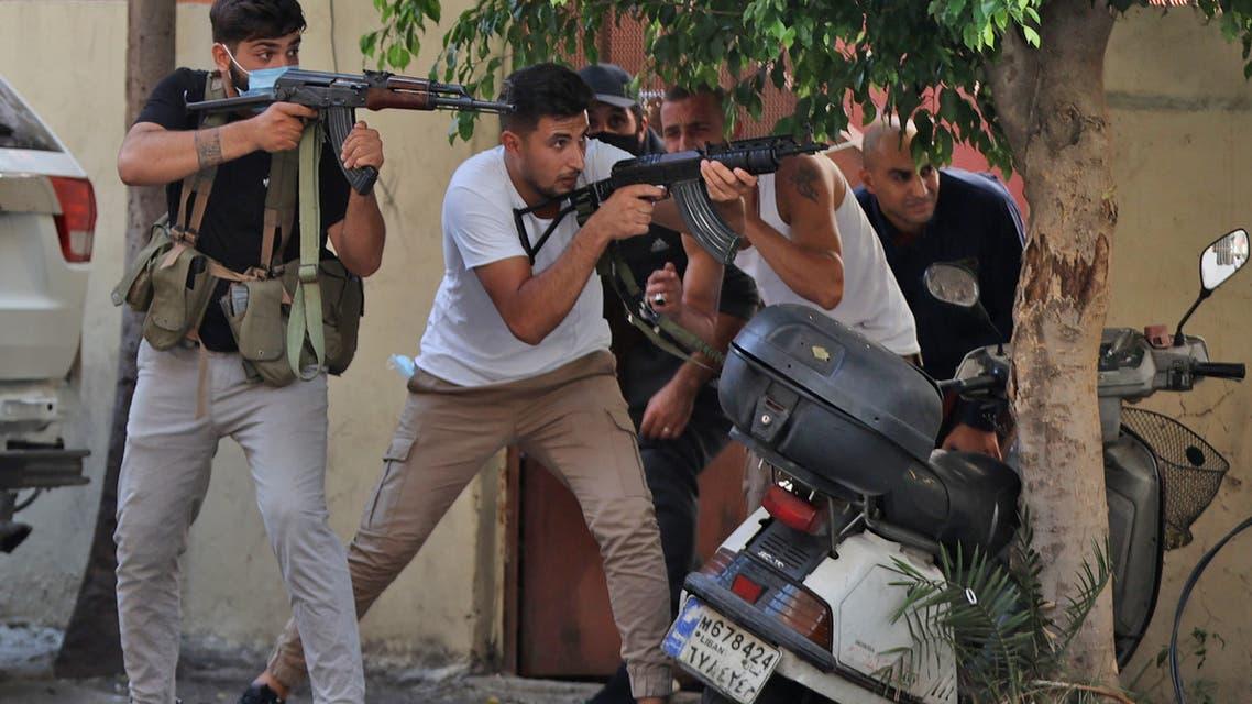 من اشتباكات بيروت - 14 أكتوبر 2021
