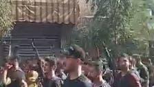 بیروت کے قلب میں حزب اللہ کی بھاری اسلحے کی نمائش کی ویڈیو جاری
