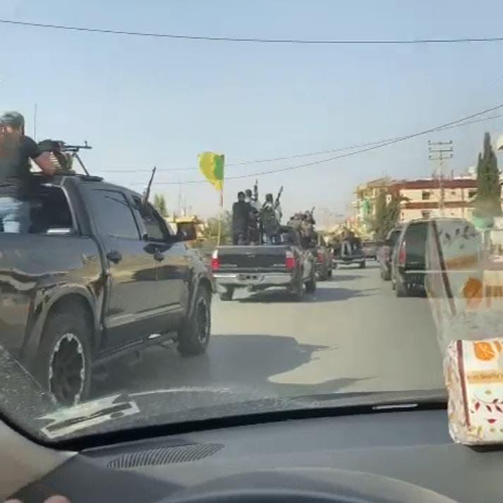 من قلب بيروت.. فيديو لحزب الله يستعرض بالسلاح الثقيل!