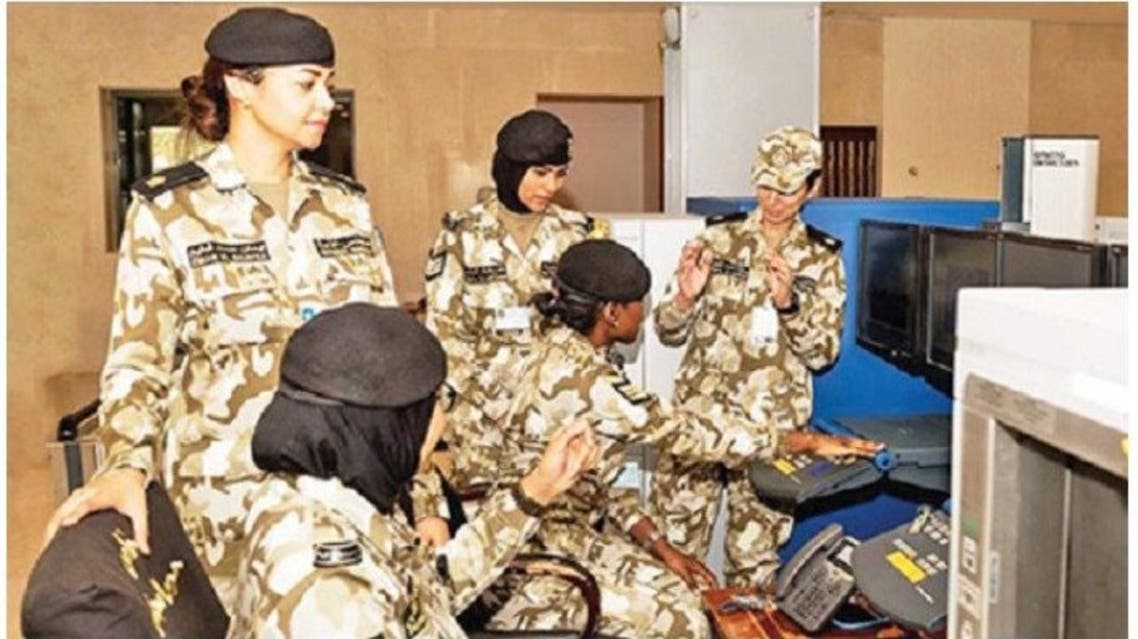 Women has become a part of Kuwait Army.