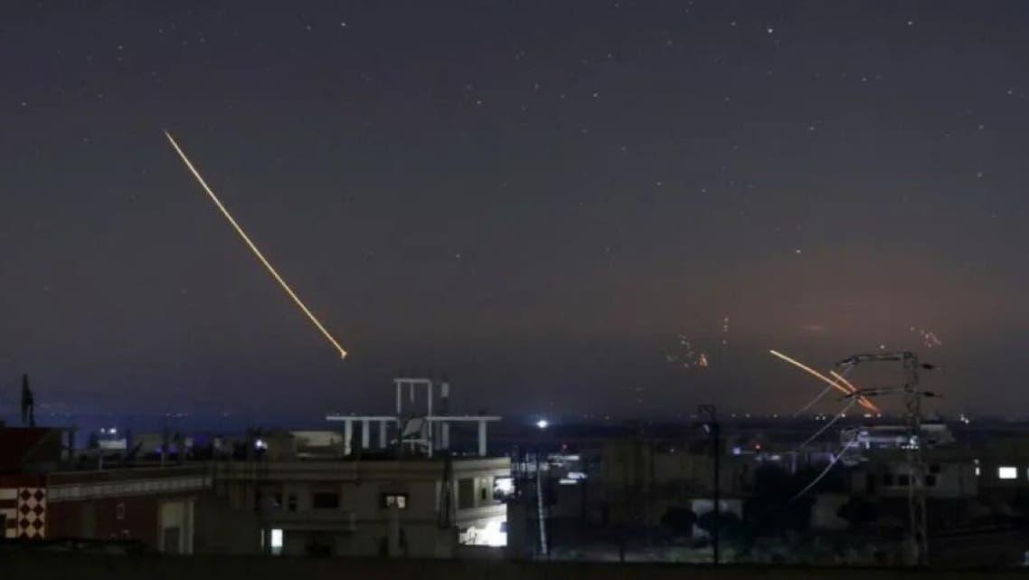 حملات هوایی اسرائیل به سوریه