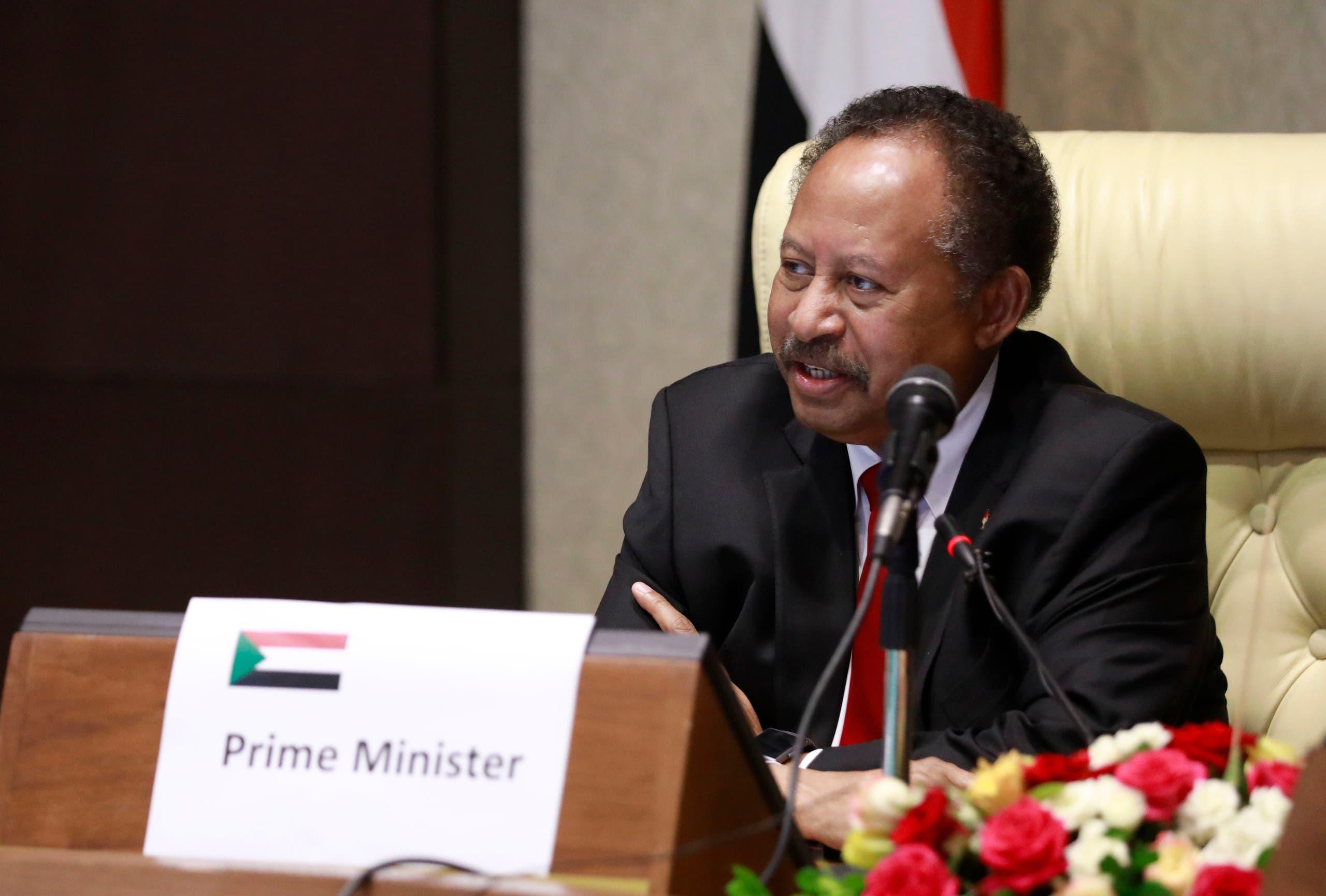 عبد الله حمدوك (فرانس برس)