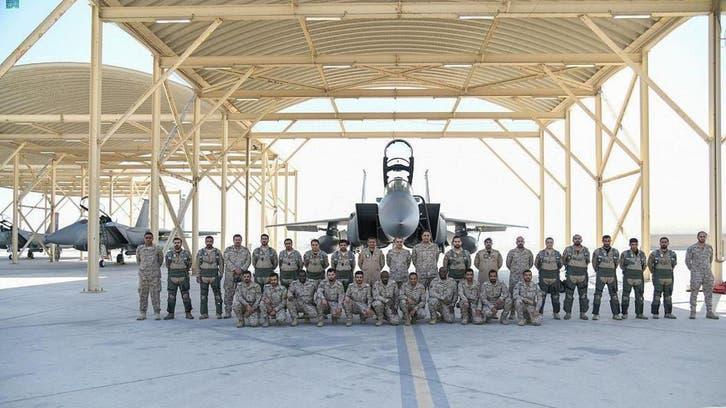 ''میزائل ایئر وار سینٹر 2021'' مشقوں میں شرکت کے لیے سعودی شاہی فضائیہ کی امارات آمد