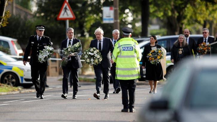 برطانوی وزیراعظم کامقتول رکن پارلیمان کوخراجِ عقیدت پیش کرنے کے لیے چرچ کا دورہ