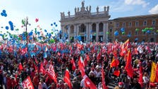 Tens of thousands demonstrate in Rome against right-wing extremists