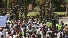ادامه تجمع معترضان در محوطه امنیتی ساختمان دولت سودان